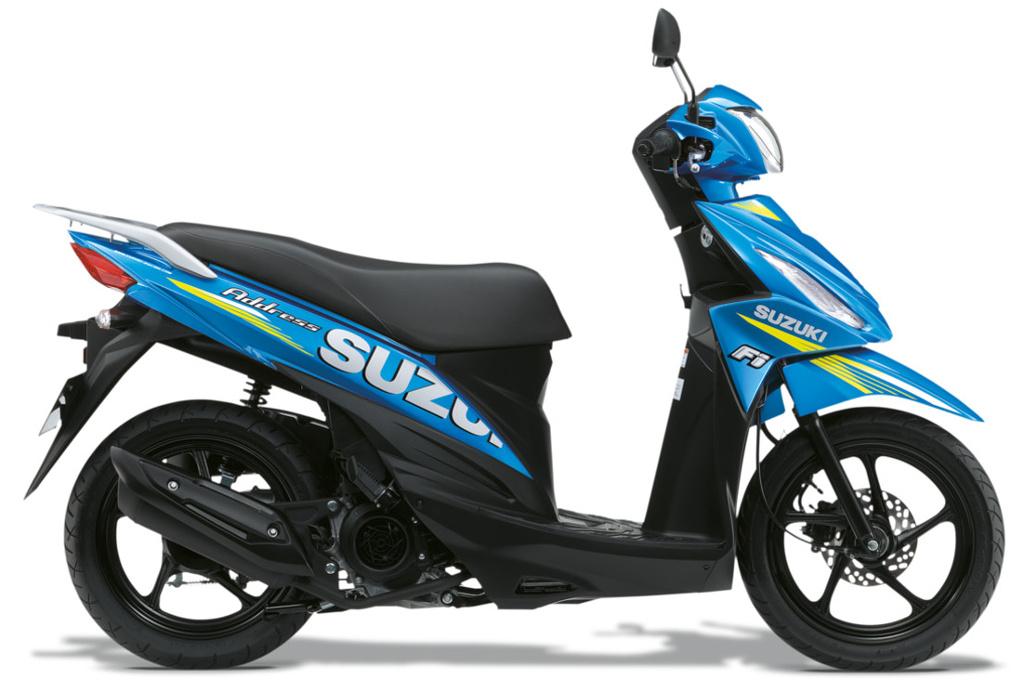 Şehirde Doğru Adres; Suzuki Address110